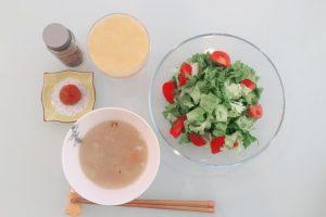 酵素ドリンク 補食1日目昼
