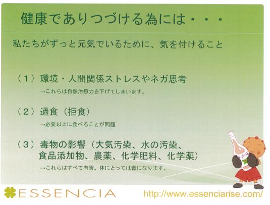 エッセンシア酵素 3月の交流会 ~2~