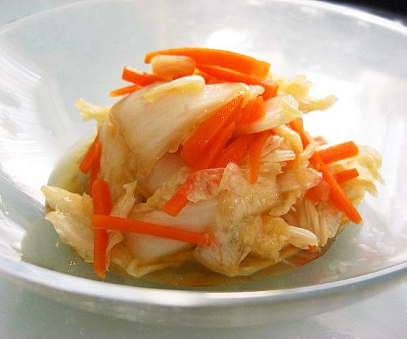 エッセンシア酵素ドリンクレシピ-白菜の中華風お漬物