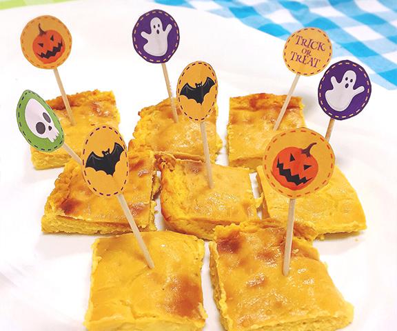 エッセンシア酵素ドリンクレシピ-かぼちゃチーズケーキ