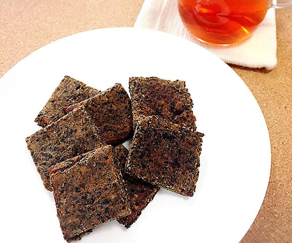 エッセンシア酵素ドリンクレシピ-黒ごまきなこの酵素入りクッキー