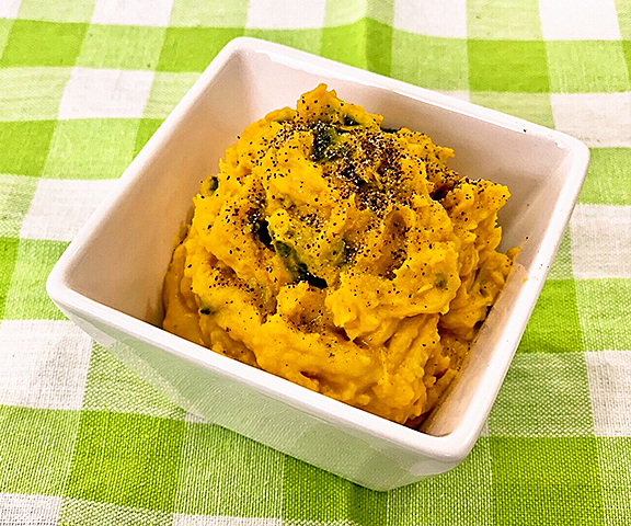 エッセンシア酵素ドリンクレシピ-かぼちゃサラダ