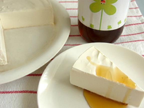 エッセンシア酵素ドリンクレシピ-レアチーズケーキ