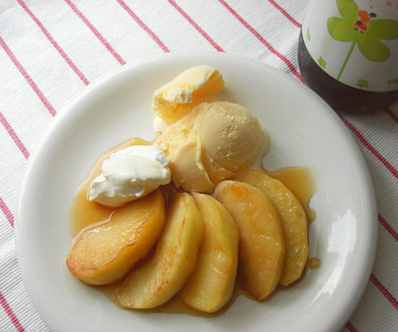 エッセンシア酵素ドリンクレシピ-りんごのキャラメリゼ