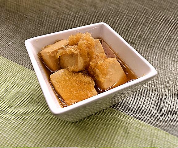 エッセンシア酵素ドリンクレシピ-お豆腐のみぞれ煮