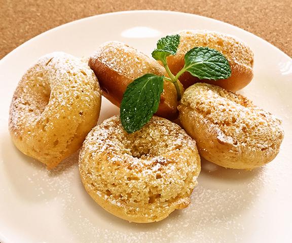 エッセンシア酵素ドリンクレシピ-酵素と豆乳のヘルシー焼きドーナツ